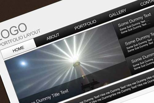 How to Easily Design an Attractive Portfolio Web Template