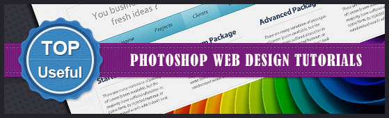 Fresh 13+ Photoshop Tutorials - How to Design a Website Template