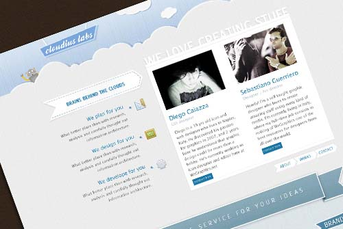 Design a creative portfolio in Photoshop
