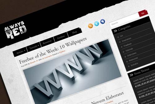 Create a Minimalist Blog Layout in Photoshop