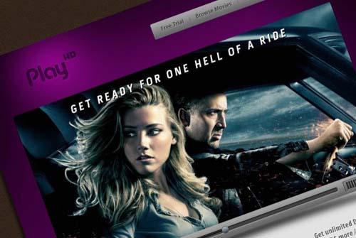 Create a movie video streaming website