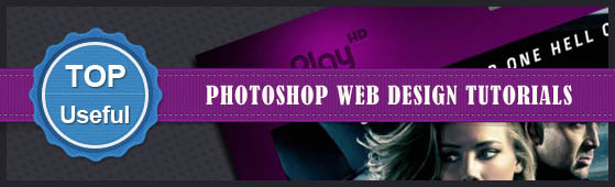 Photoshop Tutorials - How To Design The Web Template