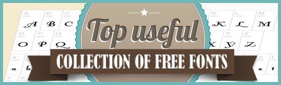 15+ Fantastic Free fonts