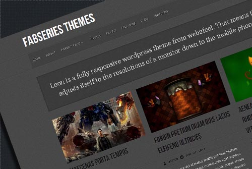 LEON Free Responsive WordPress Theme
