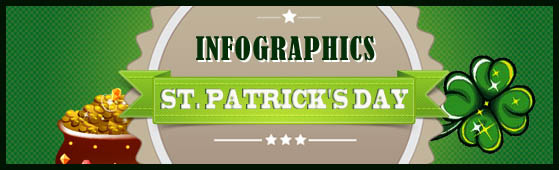 Saint Patrick's Day 2012: 9 New Fantastic Infographics