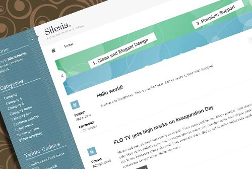 SILESIA Free Professional WordPress Theme