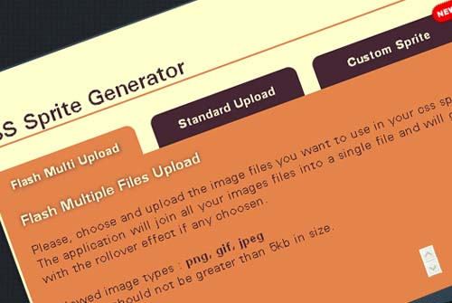 Online CSS Sprite Builder/Generator