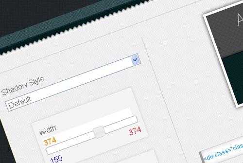 Online CSS3 Drop Shadow Generator