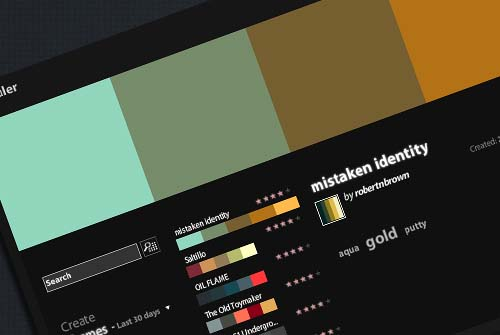 Adobe Kuler - Color Themes Generator
