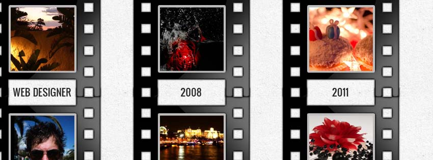 Facebook Timeline Cover Film Strip
