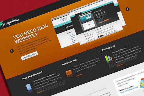 Designfolio web template