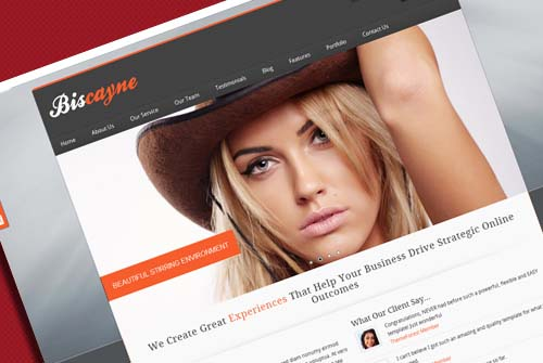Biscayne – Modern Business HTML Template