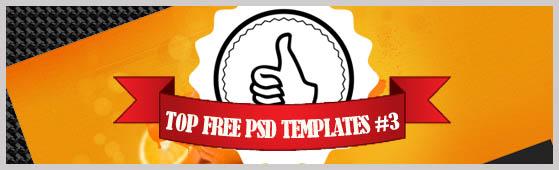 10 Free PSD Web Templates 3.