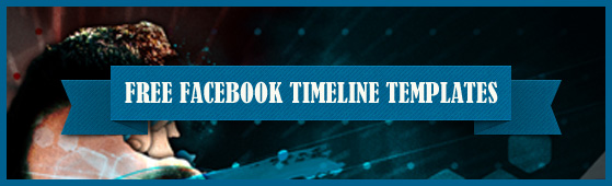 New 18+ Free Facebook Timeline Cover Psd Templates