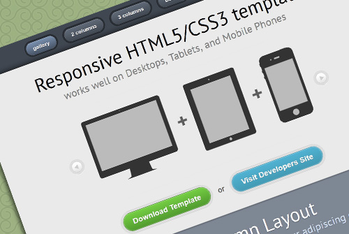 Responsive HTML5/CSS3 Website - Free One Page HTML Template