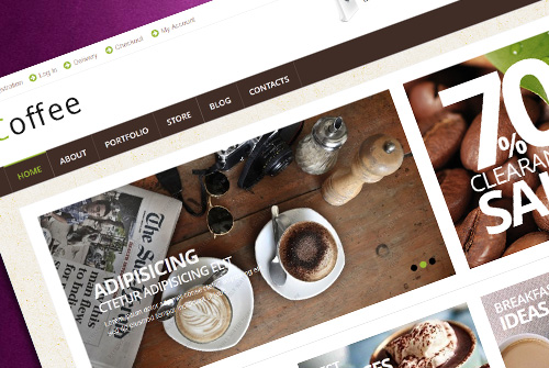 Coffee – Free Woocommerce Theme