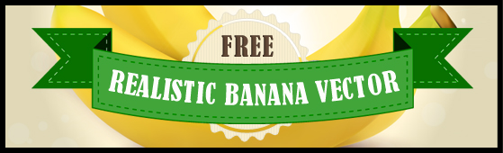 Free Banana Vector Illustration